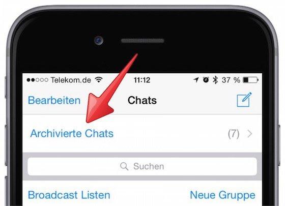 Group chat generator: Whatsapp archivierte chats löschen