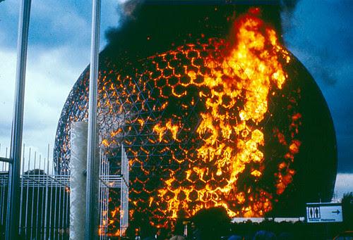 Biosphere on Fire