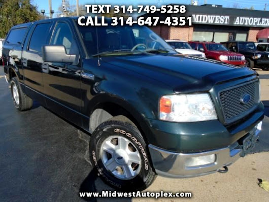 Used 2004 Ford F-150 XLT SuperCrew 4WD for Sale in St Louis MO 63139 Midwest Autoplex