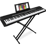 Best Choice Products 88-Key Digital Piano Set w/ Semi-Weighted Keys, Stand, Sustain Pedal