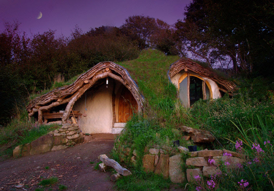 Hobbit House, Wales