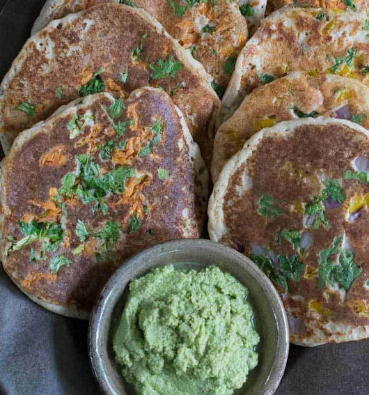 Easy Instant Pot Uttapams: Savory Indian Pancakes | Plant Based Instant Pot