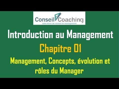 Introduction au Management - chapitre 01-