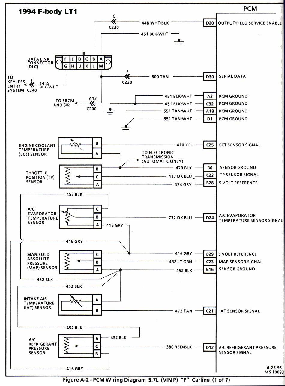 93 to 94 LT1 Conversion, No Comunication Through ...