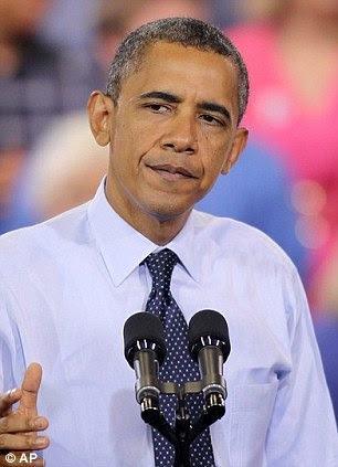President Barack Obama speaks during a campaign stop, Wednesday, Aug. 22, 2012, in North Las Vegas, Nevada