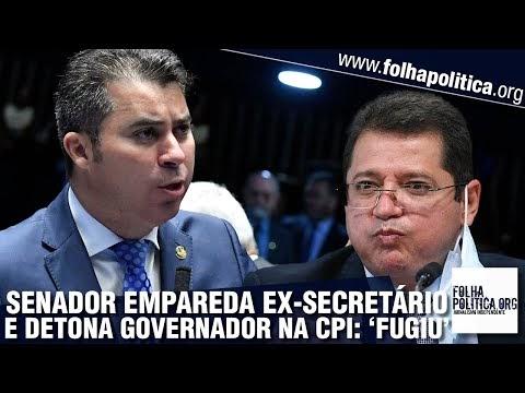 Senador Marcos Rogério coloca ex-secretário do Amazonas contra a parede e detona governador: 'Fugiu da CPI'