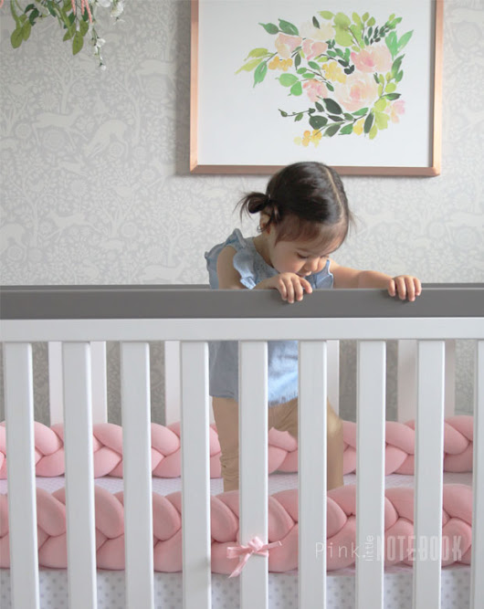 The Perfect Braided Crib Bumper from Juju & Jake