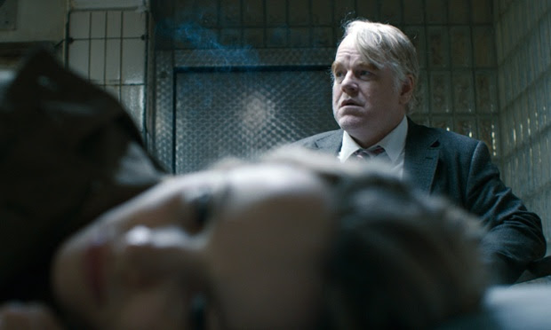 Hoffman and Rachel McAdams in the film A Most Wanted Man, due to be released this year