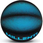 Millenti BB0307BU StreetSmart Blue Basketball