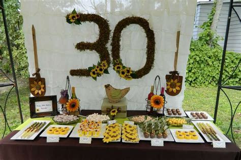 Sunflowers and Wine Birthday Party Ideas   Photo 1 of 15