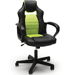 Essentials by OFM ESS-3083 Racing Style Gaming Chair, Green