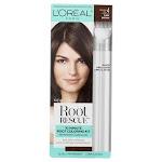 L'Oreal Paris Root Rescue Permanent Hair Color, Dark Brown 4