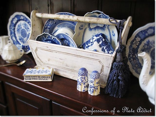 CONFESSIONS OF A PLATE ADDICT I'm in Love...with My Shabby Tool Box!