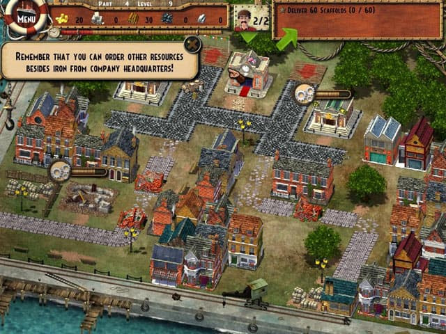 Monument Builder: Titanic Free PC Game Screenshot