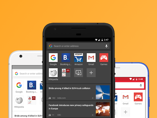 Opera for Android 46 comes with themes and night mode - Opera Mobile