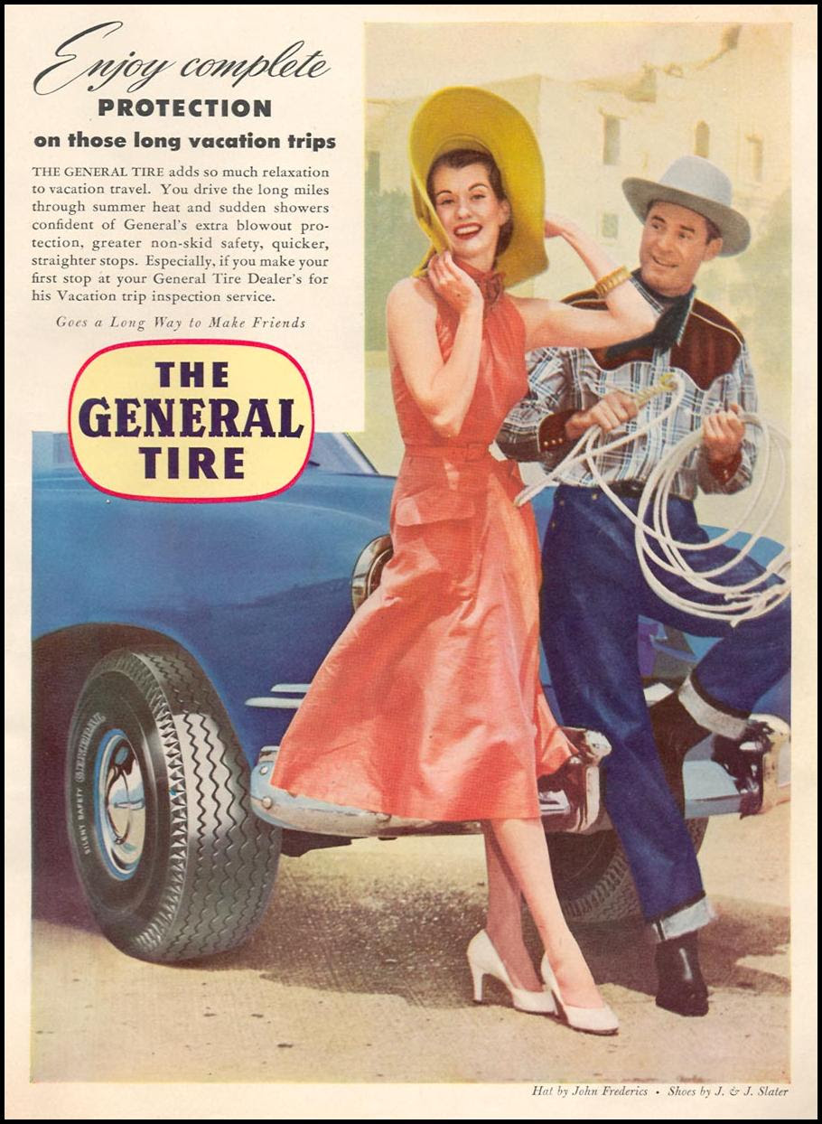 THE GENERAL TIRE NEWSWEEK 09/03/1951 p. 21