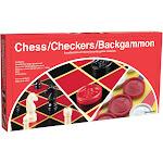 Pressman Game, Chess/Checkers/Backgammon