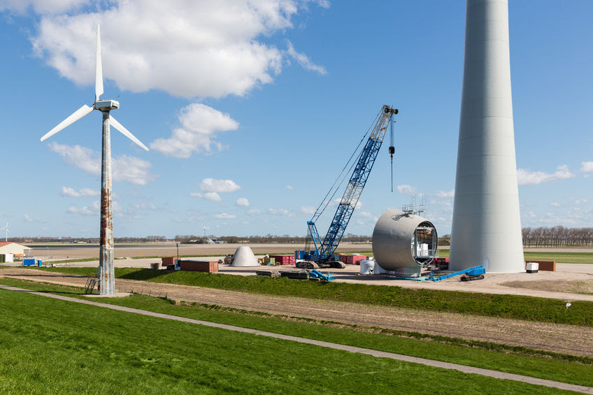 Concrete Tower Wind Farms Construction