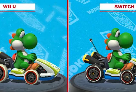 Am I Blind Or Does 'Mario Kart 8' Look Identical On The Nintendo Switch And Wii U?