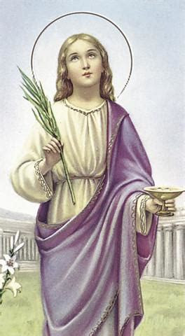 St Lucy Holy Card   FREE Ship $49    Catholic Online Shopping