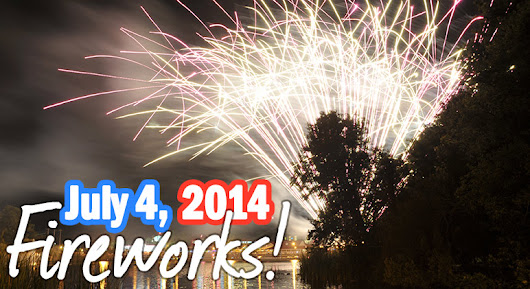 Fourth of July Fireworks Roundup 2014 in Myrtle Beach & North Myrtle Beach
