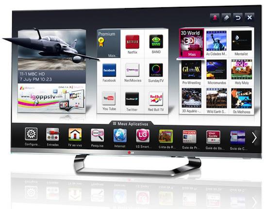 Nem mesmo os controles remotos escaparam da lista de aparelhos obsoletos,  podendo ser substituídos por apps para dispositivos móveis ou sensores de movimentos dos mais novos modelos de Smart TV (Foto: Divulgação/ LG Electronics)
