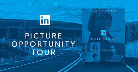 The LinkedIn Picture Opportunity Tour