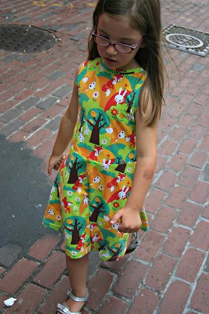 summer forest dress 1