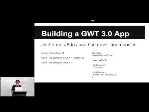 GWT.create Conference, January 2015