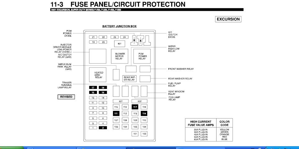 29 2001 Ford F350 Fuse Box Diagram - Wire Diagram Source ...