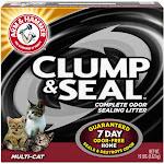 Arm & Hammer Clump & Seal Clumping Litter, Multi-Cat - 19 lb box