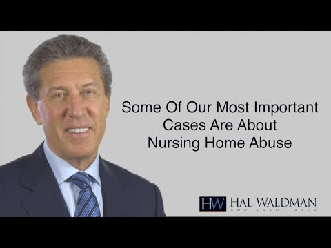Some of Our Most Important Cases Involve Nursing Home Abuse