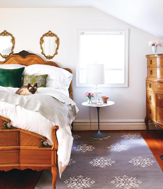 interior design, home designing, decor, bertelson-bedroom via style at home