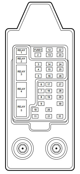 99 lincoln town car fuse box diagram 99 lincoln navigator air suspension relay  99 lincoln navigator air suspension relay