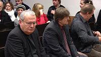 Los ex agentes en el Tribunal Municipal de Praga 7, foto: ČT24