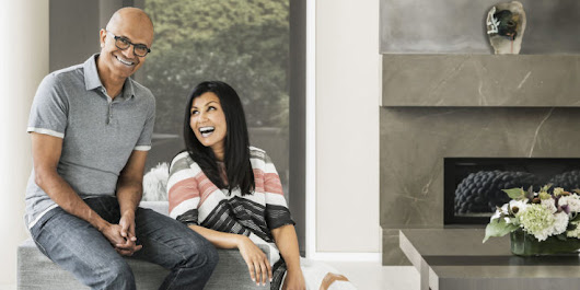 Satya and Anu Nadella Open Up About Their Family Life