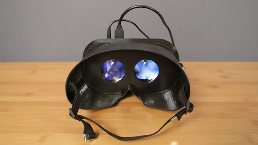 Here's how you make your own 3D-printed virtual reality goggles