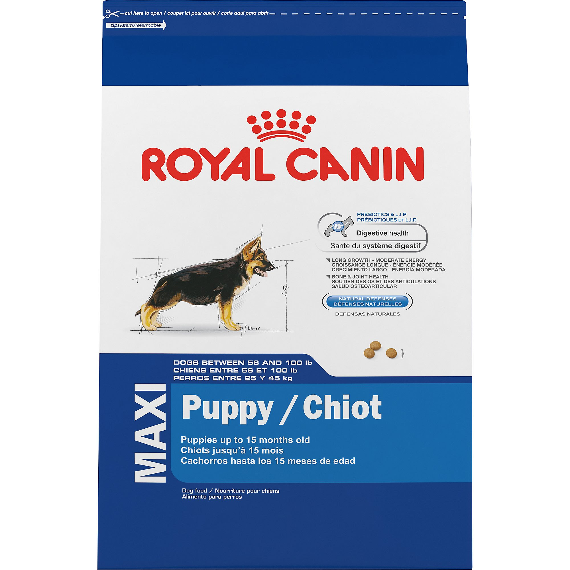 Royal Canin MAXI Large Breed Puppy Food | Petco