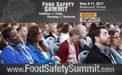 Hot topics front and center at Food Safety Summit 2017 | Food Safety News