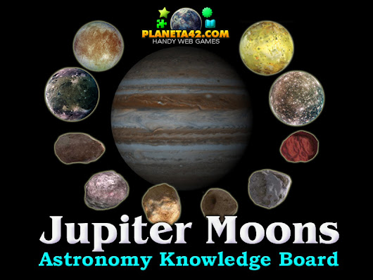 Jupiter Moons | Astronomy Class Game