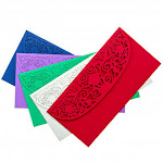 Beautiful Laser Cut Assorted Colour Money Holders for Cash Gift for Christmas, Birthday, or Any Special Occasion