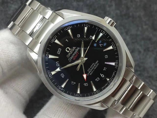 Replica Omega Aqua Terra GMT Dial