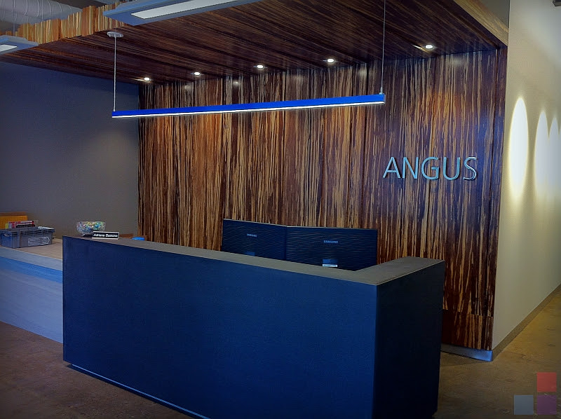 Angus Systems Reception Desk Willsëns Architectural Millwork