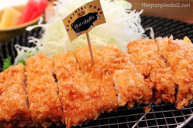 Kurobuta Pork Set 90g P515 120g P575
