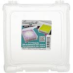 """ArtBin Essentials Box-6""""X6"""" Translucent"""