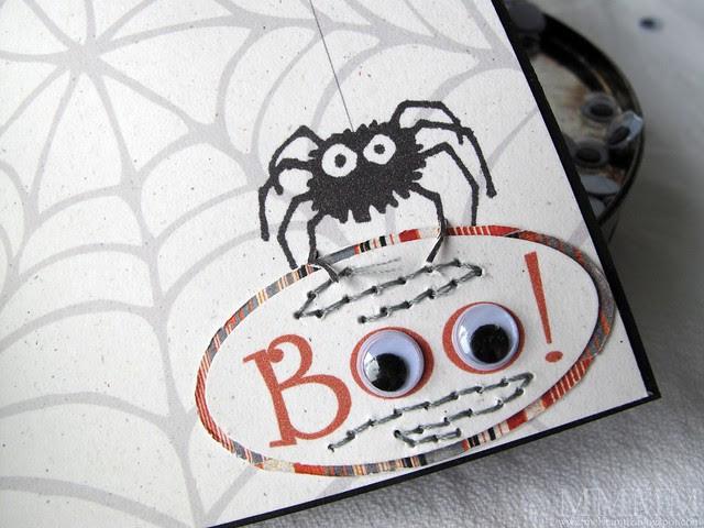 bat window card Hero Arts spider
