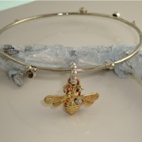 Bee Bangle Bracelet