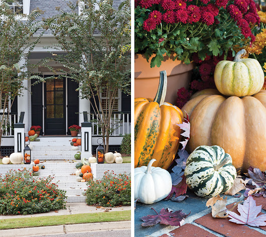Porches & Pumpkins - Southern Lady Magazine