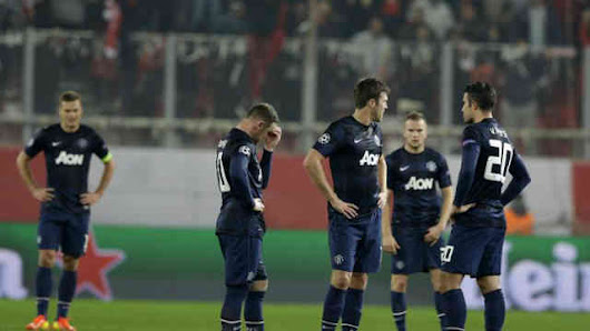 Olympiacos 2 : 0 Manchester United Champions League Highlights
