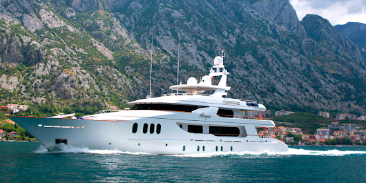 A rare look inside a $22 million yacht with 5 cabins and a Jacuzzi